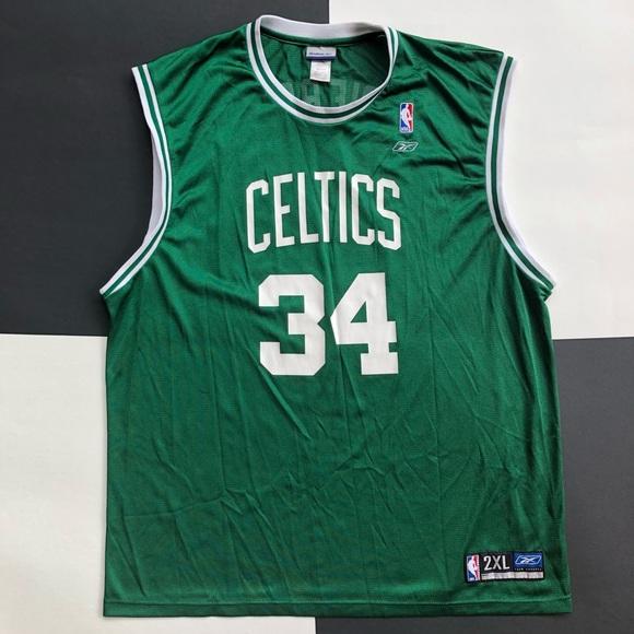REEBOK NBA PAUL PIERCE CELTICS JERSEY. M 5b3d752b7386bc53d1d1f3ab 981ade5dc